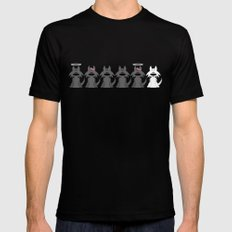 The Pack MEDIUM Mens Fitted Tee Black