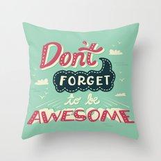 DFTBA Throw Pillow