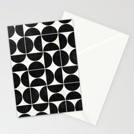Mid-Century Modern Pattern No.3 - Concrete Stationery Cards