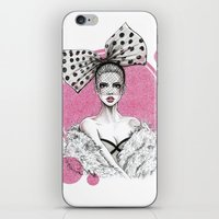 fancy iPhone & iPod Skins featuring Fancy by Tania Santos