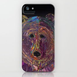 Grizzly Stare iPhone Case