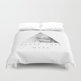 Bless this mess Duvet Cover