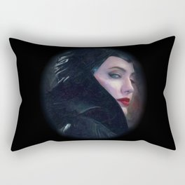 Maleficent in Oil / Sleeping Beauty Rectangular Pillow