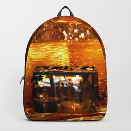 SPARKLING GOLDEN WATER Backpack
