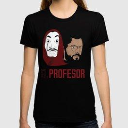 LA CASA DE PAPEL tee shirt El Peofesor T-shirt