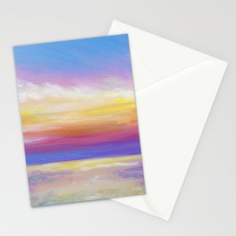 sunset in rodanthe Stationery Cards