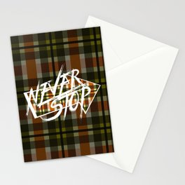 Never Stop 2 Stationery Cards