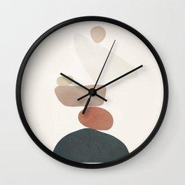Balancing Stones 26 Wall Clock