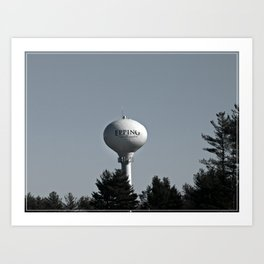 Welcome to New Hampshire Art Print
