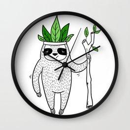 King of Sloth Wall Clock