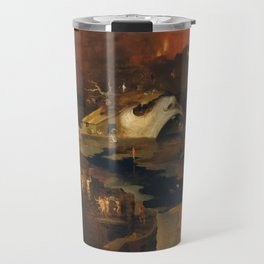 Descent Into Hell, Right Side, By Follower Of Hieronymus Bosch, Circa 1550 Travel Mug