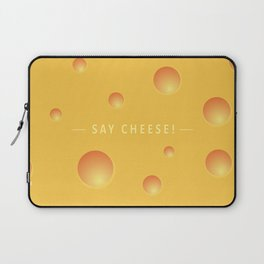Say cheese! Laptop Sleeve