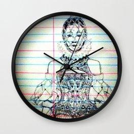 Alexandra muqueen Wall Clock