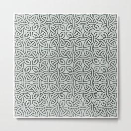 Viking Pattern | Warrior Valknut Norse Mythology Metal Print