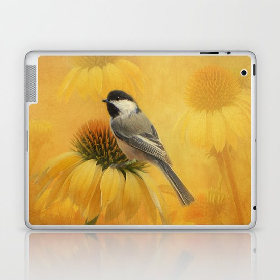 Little Chickadee Laptop & iPad Skin