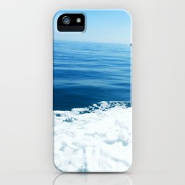 Sailing on the Pacific Ocean iPhone Case
