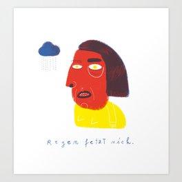 R E G E N  Art Print