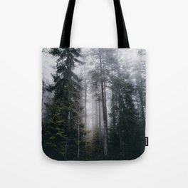 Into the forest we go Tote Bag