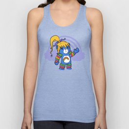 Rainbow Bearite Unisex Tank Top