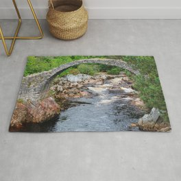 Stone bridge Rug