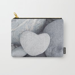 Heart Shaped Rock Carry-All Pouch