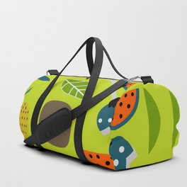 Modern decor with fruits and flowers Duffle Bag