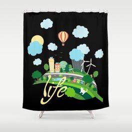 Eco Life Shower Curtain