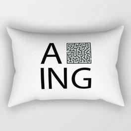A Maze Ing Rectangular Pillow