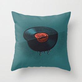 Hot Record Throw Pillow