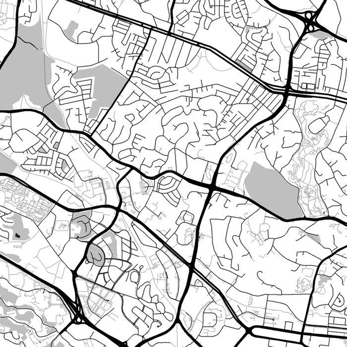 Singapore Map Gray Leggings