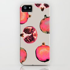 Pomegranate Pattern Slim Case iPhone (5, 5s)