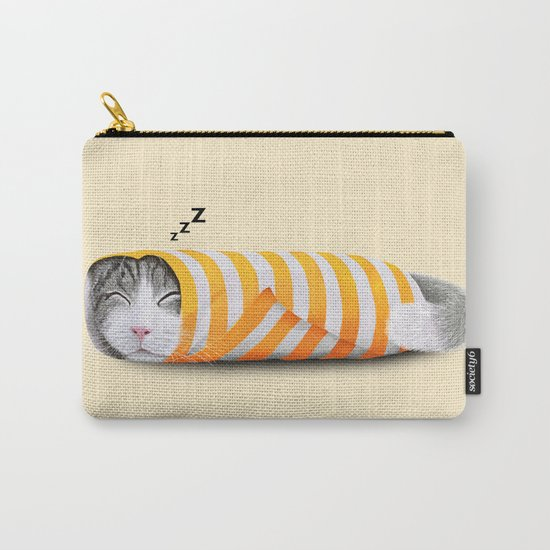 Cat in the paper Carry-All Pouch