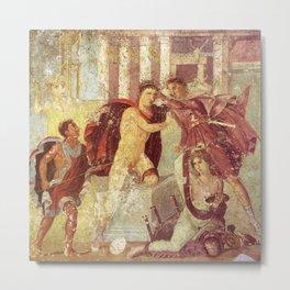 Roman Art Metal Print