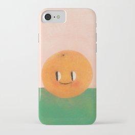 Happy happy Tangerine iPhone Case