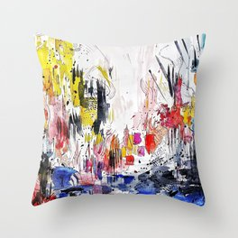 Emulation Throw Pillow