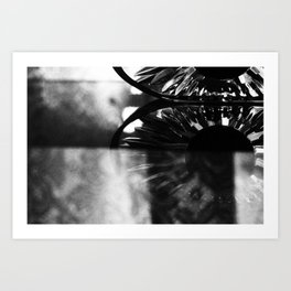 REFLECTIONS ON TIME  Art Print