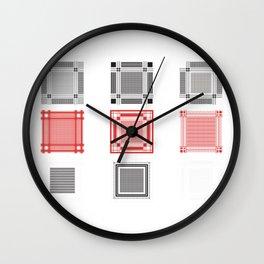 Keffiyeh Wall Clock