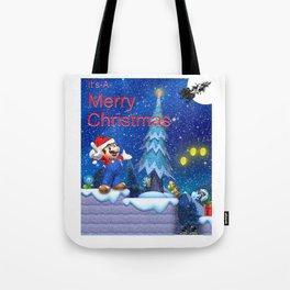 Mario Christmas #1 Tote Bag