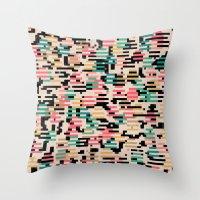 depeche mode Throw Pillows featuring blending mode by spinL
