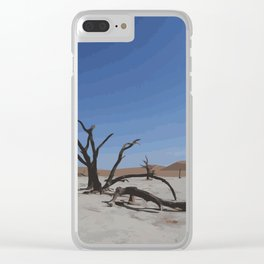 Deadvlei - Namibia Clear iPhone Case