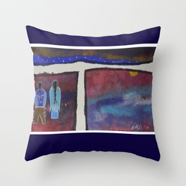 kisik 4 Throw Pillow
