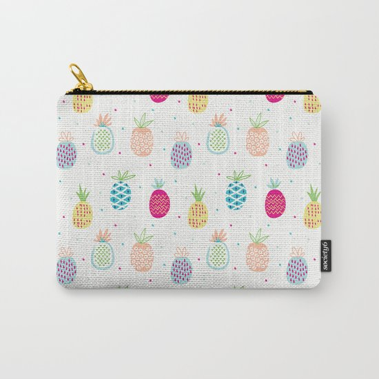 Pineapples Carry-All Pouch