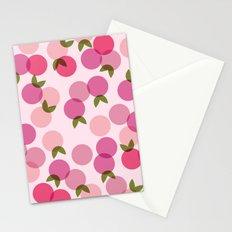 Fruit Pattern - Pink Stationery Cards