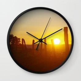 Sunbathe Wall Clock