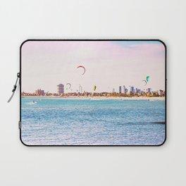Windsurfing at St Kilda Laptop Sleeve