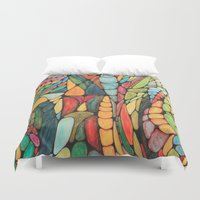 wizard Duvet Covers featuring Wizard by Alamogordo