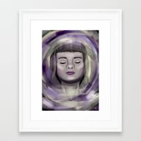 ace Framed Art Prints featuring Ace by erikakettle