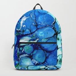 Blue Bubbles Backpack