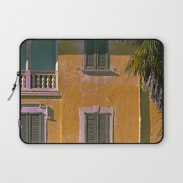 Old house in the north of Italy on the Swiss border Laptop Sleeve