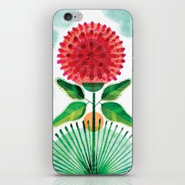 Red Clover iPhone Skin